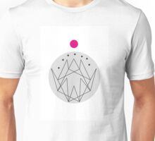 Geometric Mountains 7 Unisex T-Shirt