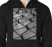 Fragments of urban life. Zipped Hoodie
