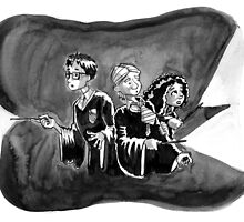 A Trio of Lumos by Graeme Partridge-David