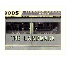 The Landmark Art Print