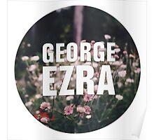 George Ezra Logo Poster