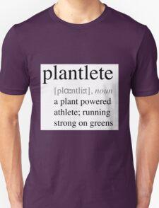 Plantlete - plant powered athlete Unisex T-Shirt