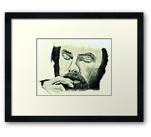 Aidan Turner - Inside Out Framed Print