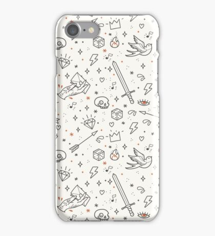 Home made tattoos rule iPhone Case/Skin