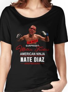 Nate Diaz Women's Relaxed Fit T-Shirt