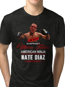 Nate Diaz Tri-blend T-Shirt