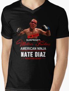 Nate Diaz Mens V-Neck T-Shirt