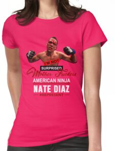 Nate Diaz Womens Fitted T-Shirt