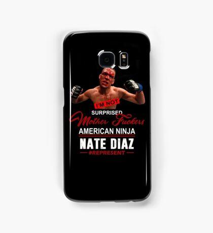 Nate Diaz Samsung Galaxy Case/Skin
