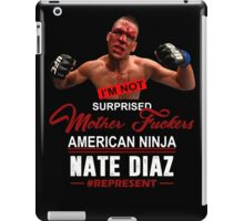 Nate Diaz iPad Case/Skin