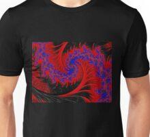 Flamenco Dancer - Fractal Art Unisex T-Shirt