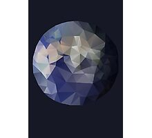 The Blue Planet - A Faceted View of the Planet Earth Photographic Print