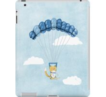 Cutie Parachuting Dog iPad Case/Skin