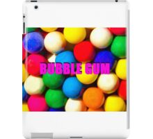Bubble Gum with text iPad Case/Skin