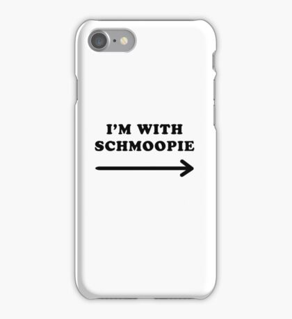 Gillian anderson im with schmoopie iPhone Case/Skin
