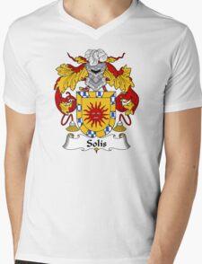 Solis Coat of Arms/Family Crest Mens V-Neck T-Shirt