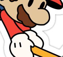 Paper Mario - Paper Mario Colour Splash Sticker