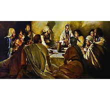 Last Supper Reproduction Photographic Print