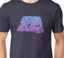 Shapley Faces: Trapezoid Unisex T-Shirt