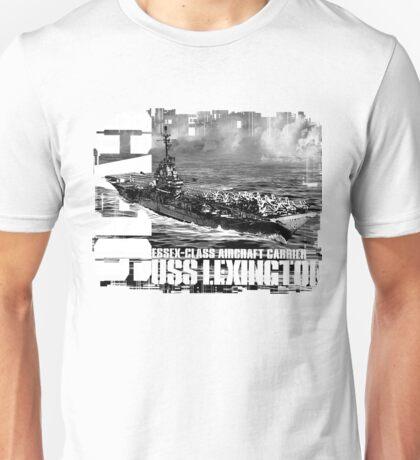 Aircraft carrier Lexington Unisex T-Shirt