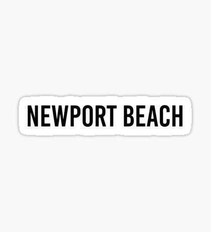 NEWPORT BEACH Sticker
