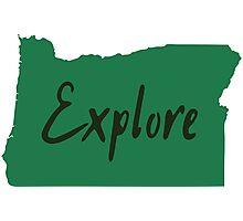 Explore Oregon State Photographic Print