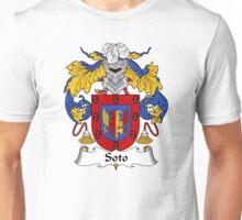 Soto Coat of Arms/Family Crest Unisex T-Shirt