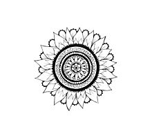 Henna Design Two Photographic Print