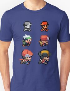 POKEVOLUTION - pixelart  Unisex T-Shirt
