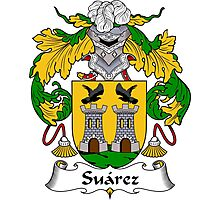 Suarez Coat of Arms/Family Crest Photographic Print