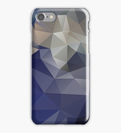 The Blue Planet - A Faceted View of the Planet Earth iPhone Case/Skin