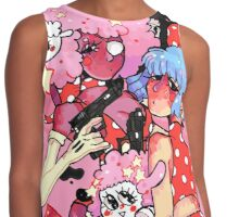 Soft Spy Girls Contrast Tank