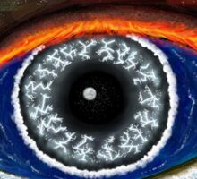 The Eye of Mother Nature Sticker