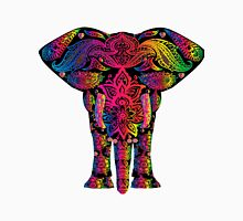 Elephant,colorful,hand painted,hand  drawn,contemporary,doddle Classic T-Shirt