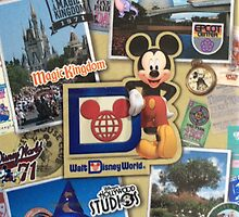 Disney 40th Anniversary phone case by Denise Swenglish