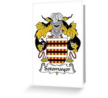 Sotomayor Coat of Arms/Family Crest Greeting Card