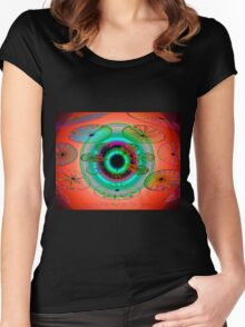 Eye of the Butterfly Women's Fitted Scoop T-Shirt