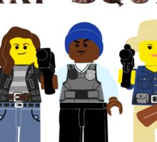 Lego Squad with text Sticker