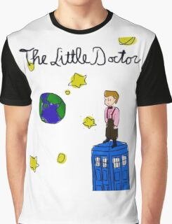 The Little Doctor (open background) Graphic T-Shirt