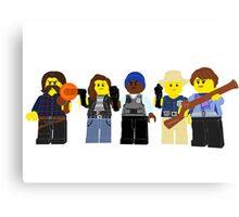 Lego Earp Squad Canvas Print