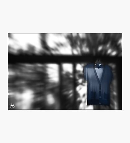 Blue Blouse Washday Photographic Print