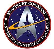 Starfleet Command Emblem Photographic Print