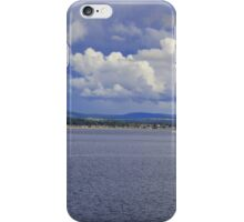 Clouds over the Moray Firth iPhone Case/Skin