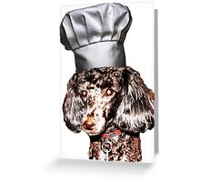 Chef Louie Greeting Card