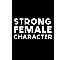 STRONG FEMALE CHARACTER GILLIAN ANDERSON Photographic Print