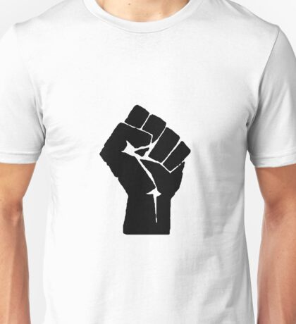 Raised Fist Unisex T-Shirt