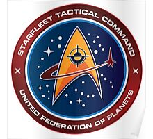 Starfleet Tactical Command Emblem Poster