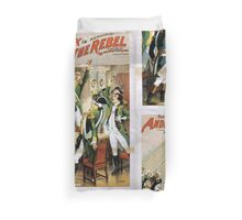 Performing Arts Posters The singing comedian Andrew Mack in his new play The rebel a drama of the Irish rebellion by James B Fagen 1335 Duvet Cover