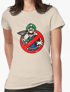 Ghostbuster Mashup Luigi Womens Fitted T-Shirt