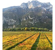 Autumn in Italy  Photographic Print